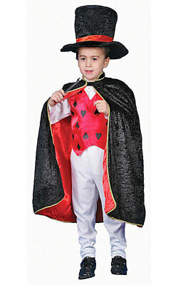 Deluxe Magician Dress up Costume Set Fancy Dress Role Play