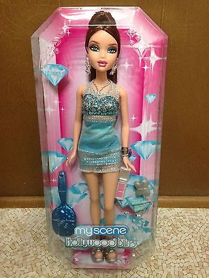Barbie My Scene Chelsea Red Auburn Hair Dressed Doll Hollywood Bling Rare