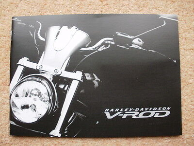Original Harley V Rod VRSCA VRSCB brochure early 2000's