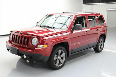 2015 Jeep Patriot  2015 JEEP PATRIOT HIGH ALTITUDE SUNROOF HTD LEATHER 49K #296842 Texas Direct