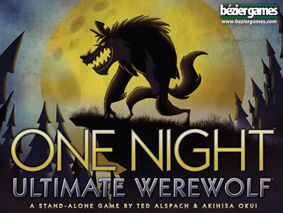 One Night Ultimate Werewolf - Board Game - Brand New - Free Shipping!