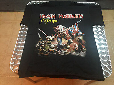 Vintage Iron Maiden The Trooper 1998  T-Shirt Size M