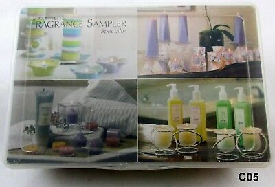 Vintage Small PartyLite Fragrance Sampler Specialty Candles 9 ea NOS Retired C05