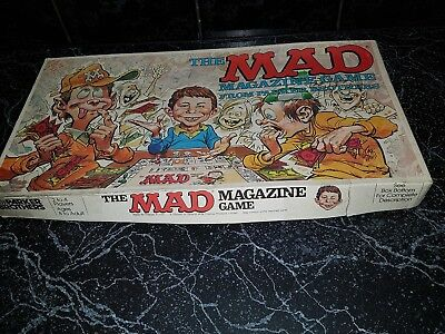 Vintage the mad magazine game parker brothers made in Australia 1979 original