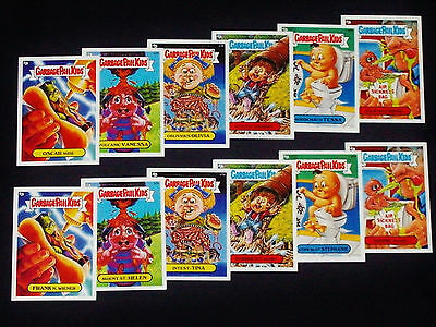 GARBAGE PAIL KIDS - 2005 All New Series 4 - Scratch 'n Stink Set - 12 Cards ANS4