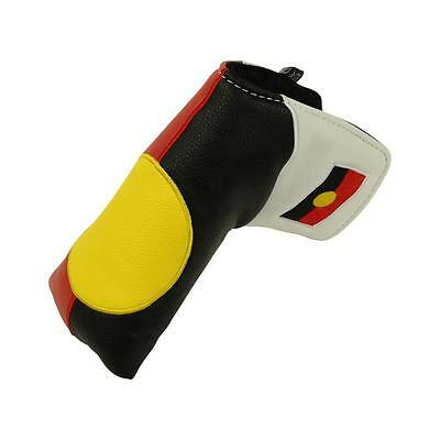 Aboriginal Flag Blade Style Putter Cover