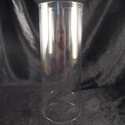 Clear Glass Chimney 3 inch tube cylinder oil lamp fits #2 and #3 oil lamp burner
