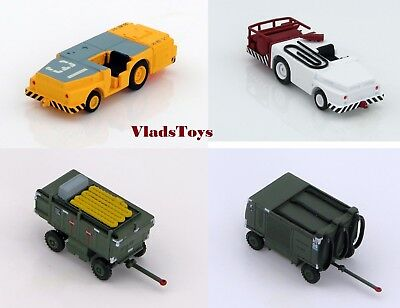 Hobby Master 1/72 Set of 4 Ground Support Fire/Tow Tractor TTU-228/E & A/M32A-60