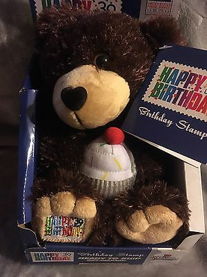 Usps Post Office Happy Birthday Bear That Folds Into Mail Truck