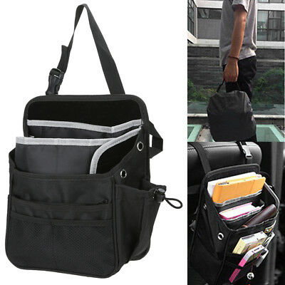 Car Back Seat Tidy Organiser Storage Pocket Pouch Travel Kid Baby Bag Holder New