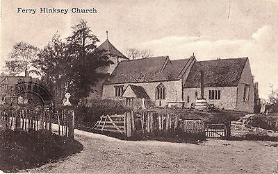 FERRY HINKSEY Church North Hinksey Oxfordshire England UK 1934 Postcard