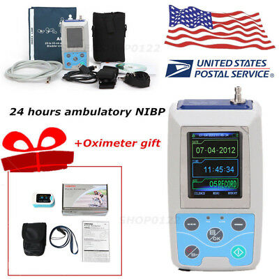 USA CE FDA Automatic 24 Hours Arm Ambulatory Blood Pressure Adult ABPM50 + SW