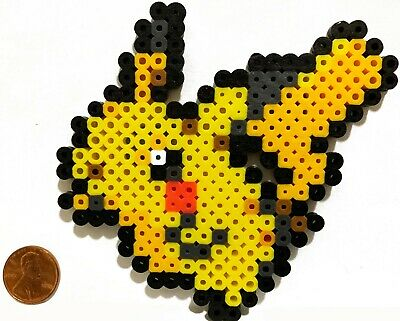 Pikachu Pokemon Bead Sprite Perler Art Menu Icon