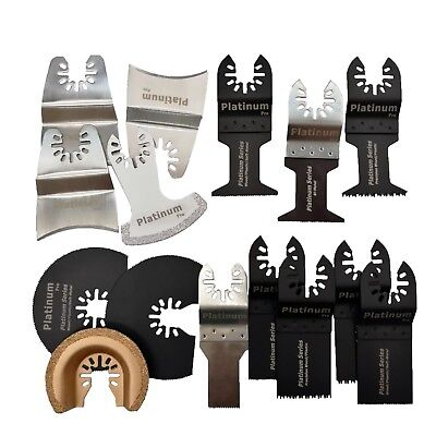 15 PC Saw Blade Oscillating MultiTool fits PORTER CABLE BLACK & DECKER DEWALT