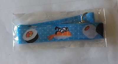 San Diego Comic Con SDCC 2017 Snoopy Exclusive Peanuts in Japan Sushi Lanyard