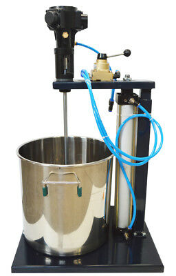 5 Gallon Pneumatic Mixer Mix Paint With Stainless Steel Tank
