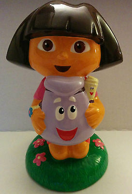 Dora the explorer Ceramic Piggy Bank 2003 Viacom Nickelodeon