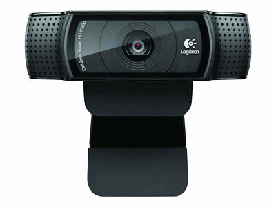 NEW! Logitech 960-001055 Hd Pro Webcam C920 Web Camera Colour 1920 X 1080 Audio