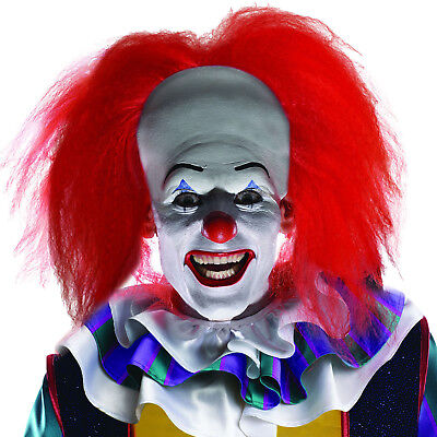Adult' Pennywise IT Halloween Fancy Dress Party Costume Accessory Clown Wig