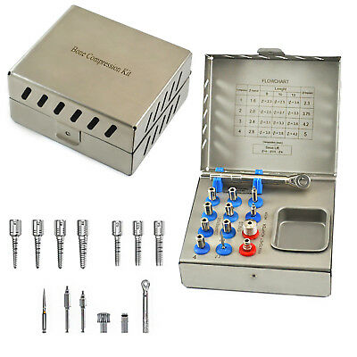 Professional Bone Compression Kit Surgical Implant Dental Surgery Instruments CE