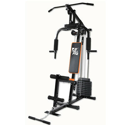 F4H Home Multi Gym ES-403 Toning Body Building Workstation Strength Machine