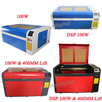 RECI 100W Co2 1000x600mm Laser Engraving Cutting Machine Engraver DSP & Non DSP