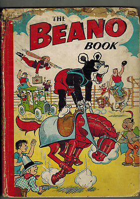 THE BEANO BOOK 1951 vintage comic annual