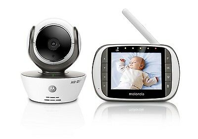 Motorola MBP853 Connect Wifi HD Digital Video Baby Monitor with free HUBBLE APP