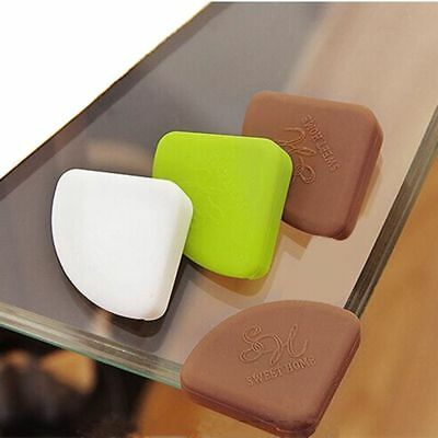 4PCs Infant Care Edge Cushion Safety Guards Tool Silicone Table Corner Cover