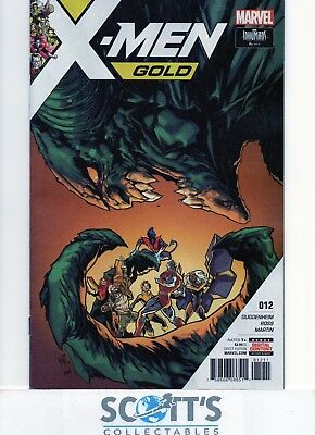 X-Men Gold  #12  New  (Bagged & Boarded)
