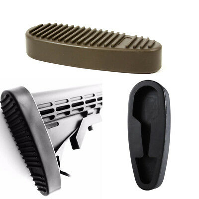 Slip on Rubber Combat Buttpad Butt Pad Recoil Pad for 6 Position Rifle Stock