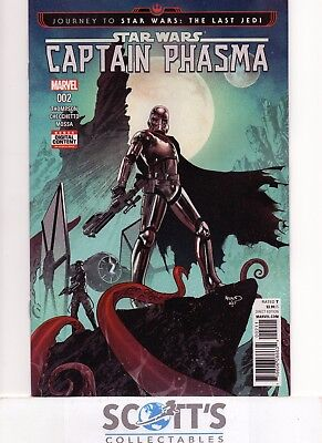 Star Wars Captain Phasma  #2  New  (Bagged & Boarded)