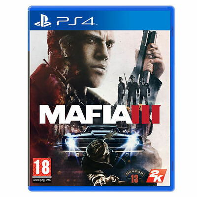 Mafia 3 Ps4 Gioco Game Playstation 4 Videogioco Videogame Multilingue Italiano