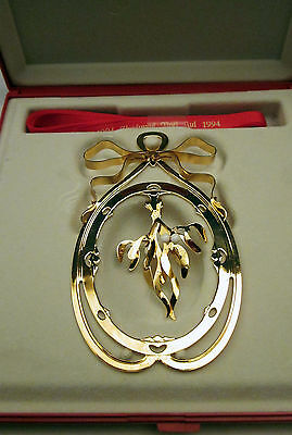 Mobile Christmas 1994 - Georg Jensen - 24Cts Gold Plated - Free Shipping