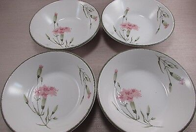 Midwinter China INVITATION Coupe Cereal Bowls - Set of Four