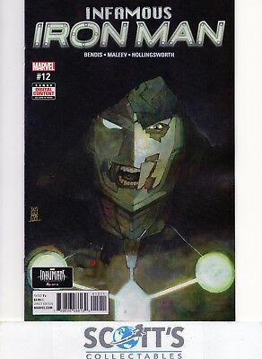Infamous Iron Man  #12  New  (Bagged & Boarded)