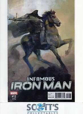 Infamous Iron Man  #12  New  (Maleev Variant)