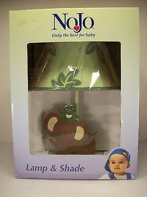 "NOJO LAMP JUNGLE BABIES LAMP ""BRAND NEW"" Elephant Frog Baby Nursery The Best"
