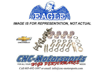 Sb Chevy 400 Rotating Assembly Mahle 9.8:1 Pistons Eagle 6.0 Rods 13011