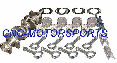 Bb Chevy 496 Stroker Rotating Assembly Mahle 10.2:1 Pistons Eagle Crank 18022