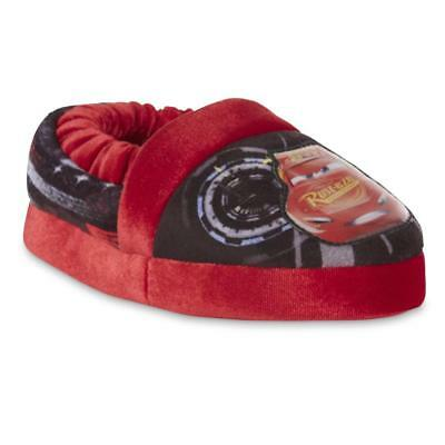 NEW NWT Boys Baby Toddler Cars Lightning McQueen Slippers Size 5/6 7/8 or 13/1
