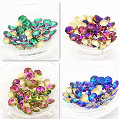 Hot color XILION ELEMENTS Crystal glass Rivoli loose Beads 10mm12mm14mm16mm18mm