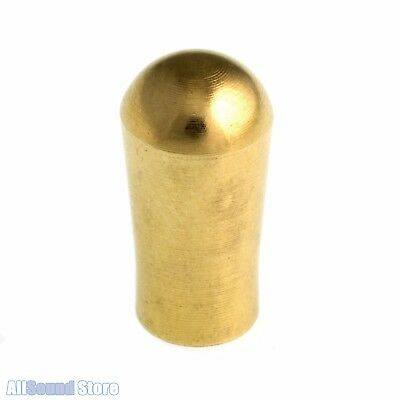 Vintage Style SOLID BRASS Switch Knob Tip for Gibson USA, Switchcraft Toggle