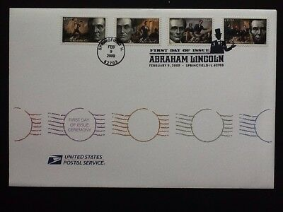 US, First Day Cover, 2009 Abraham Lincoln