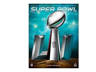 Nfl Superbowl Li (51) 2017 New England Patriots Atlanta Falcons Programme