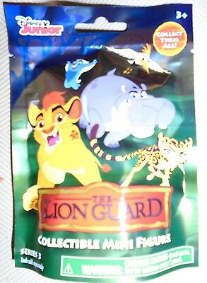 Disney Lion Guard Mini Figure Blind Bag SERIES 3 - 1 New Sealed and Unopened Bag