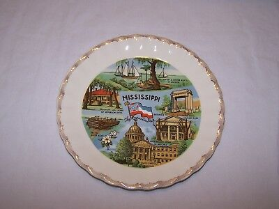 State Collectors Plate - Mississippi The Magnolia State
