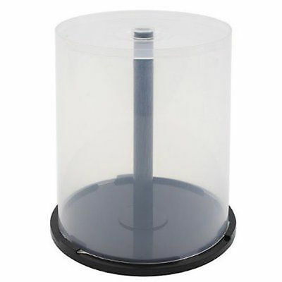 1 (One) 100 Disc Capacity Cake Box for CD DVD Storage Case Spindle