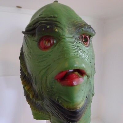 Creature From The Black Lagoon Gill Man Mask Small Adult Or Child Hong Kong HTF