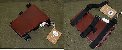 Archery, Bow, recurve bow, ARMGUARD  in Brown Vynil - Brand New -